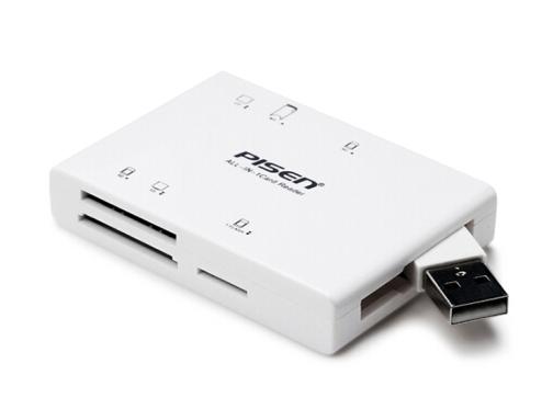 品胜 读卡器 多合一 多功能 高速SD MS XD TF M2 CF卡读卡器支持