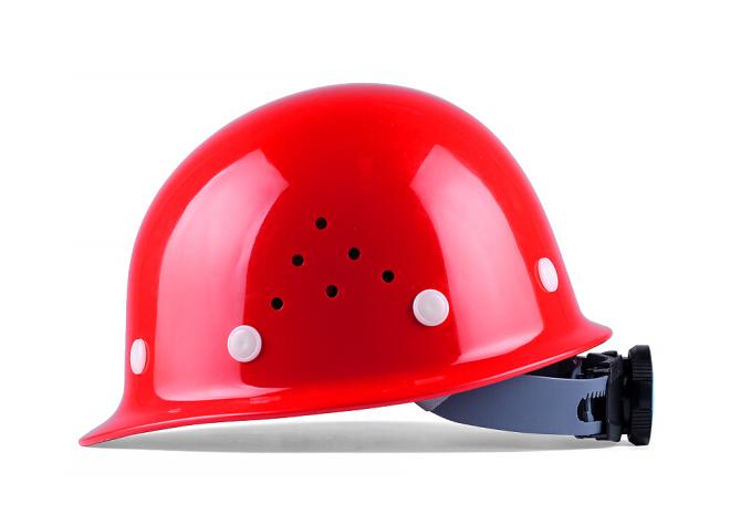 朗莱斯特玻璃钢安全帽多孔透气型