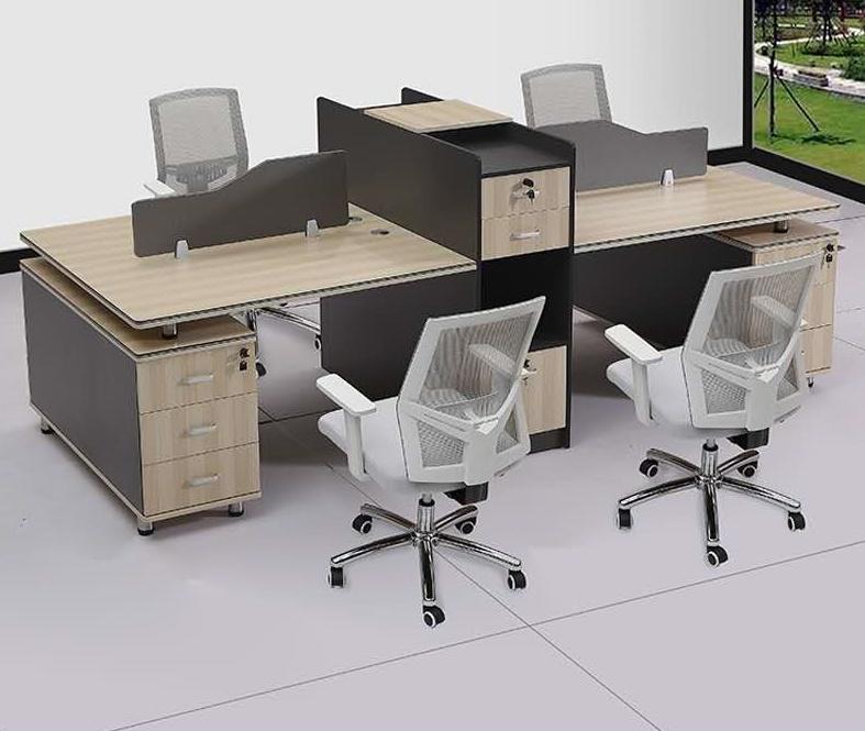 四人位办公桌SY-002   280*120*760cm