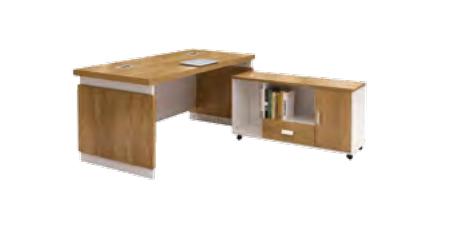 板式班台桌WT-006  160*80*76 cm