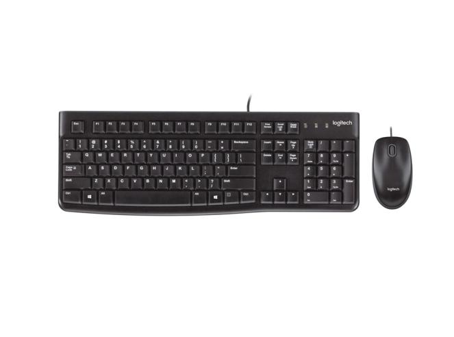 罗技(Logitech)MK120 键鼠套装 鼠标键盘套装