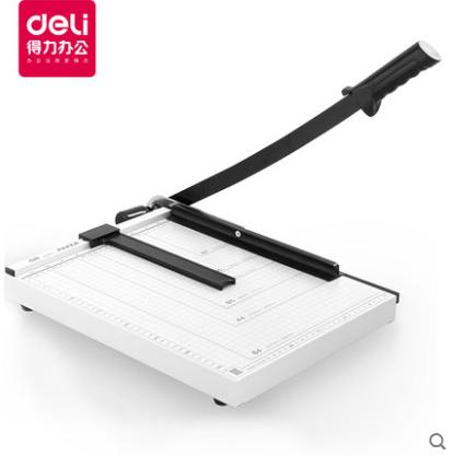 得力(deli) 8014 切纸机A4钢质切纸刀 300mm×250mm