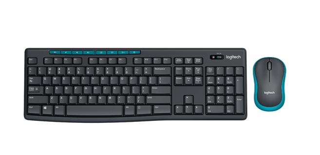 罗技(Logitech)MK275 键鼠套装 无线键鼠套装 办公键鼠套装